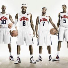 Team USA 2012 Men's Basketball BIGS