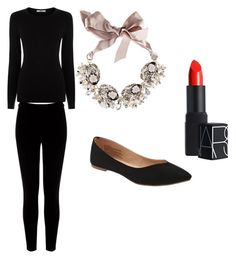 """""""60's style"""" by mackenzylynnvancil on Polyvore featuring Oasis, Old Navy, Warehouse, Gabriele Frantzen and NARS Cosmetics"""