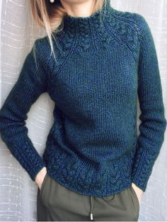 Mohair Cardigan, Ribbed Sweater, Raglan Pullover, Pullover Sweaters, Sweaters Knitted, Knitting Daily, Start Knitting, Boucle Yarn, Virtual Fashion