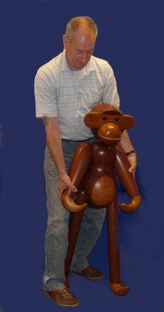 Large monkey Kay Bojesen