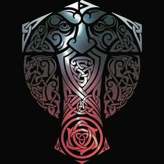 Community about Norse Mythology, Asatrú and Vikings. Viking Life, Viking Art, Viking Warrior, Viking Decor, Norse Tattoo, Celtic Tattoos, Viking Tattoos, Viking Designs, Celtic Designs