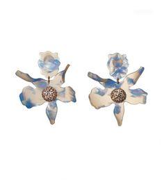 Lele Sadoughi: Cloud Sky Crystal 'Lily' Earrings