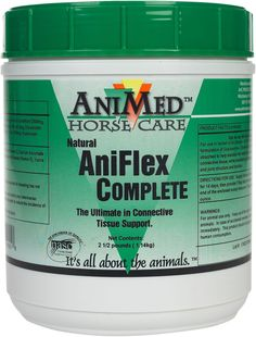 Aniflex Complete Hyaluronic Acid Joint Supplement for Horses 2.5 lb (40 - 80 days)