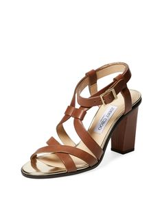Molten Leather Sandal from Rodeo Drive Designer Must-Haves on Gilt