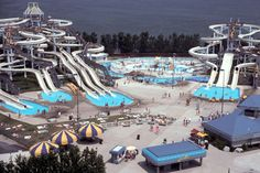 Soak City! Crazy cool water rides! This is where I discovered body slides scare the hell out of me. :(