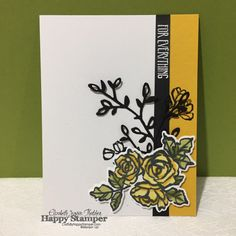 Stampin Up, Petal Palette, Blends