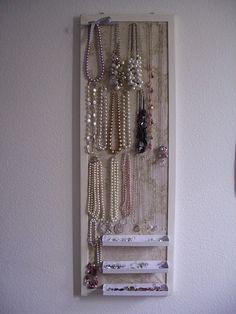 Jewelry Board - going to make to organize all my jewelry!