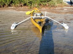 diy canoe stabilizer | OUTRIGGER IDEALS..A LOAD OFF THEM....SOME REAL EASY TO MAKE.....D.I.Y