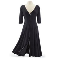 Microsuede Snap Coatdress - New Age, Spiritual Gifts, Yoga, Wicca, Gothic, Reiki, Celtic, Crystal, Tarot at Pyramid Collection