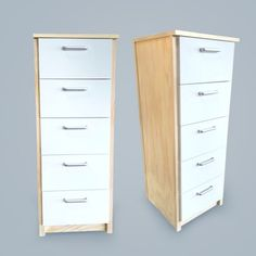 From clothing, to office storage, to anything in between - this tall unit has all the space you'll need.