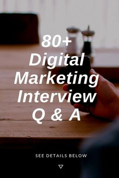 Top Marketing Interview Questions and Answers For Fresher Digital Marketing Trends, Marketing Jobs, Digital Marketing Strategy, Online Marketing, Marketing Strategies, Marketing Communications, Affiliate Marketing, Media Marketing, Marketing Interview Questions