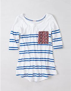 Very cute! You can even diy this to your stripe shirts