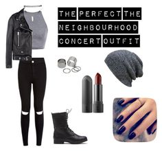 """""""The Neighbourhood Concert Outfit"""" by isadoras123 on Polyvore featuring moda, Acne Studios, Wet Seal, Pieces e Lottie"""