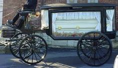 Image result for horse drawn hearse