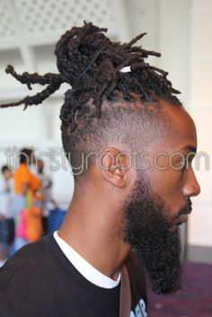 Dreadlocks Hairstyle for Black Men I love this