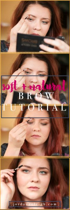 Soft and natural brows are all the rage. Eyebrows that are thick and fluffy are all over the catwalk. Natural Brows, Natural Makeup Looks, Brow Tutorial, Everyday Makeup, Party Makeup, Beauty Trends, Green Eyes, Makeup Yourself, Rage