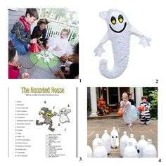 Halloween Ghost party games and activities