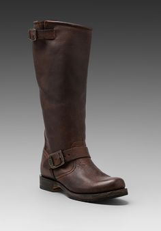 FRYE Veronica Slouch in Dark Brown at Revolve Clothing - Free Shipping!