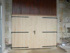 volets,portes sapin,portes garage - L'atelier du Bois