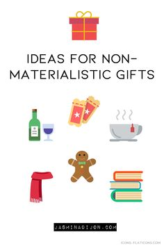 I started gifting non-materialistic presents a few years back. What seemed weird to me at first, became a common habit of mine during the holidays. Materialistic, Minimalist Lifestyle, How To Become, Weird, Presents, Letters, Posts, Holidays, Schedule
