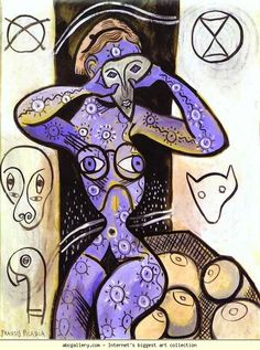 Francis Picabia. Les seins. Olga's Gallery.
