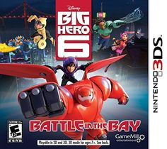 Big Hero 6 3DS - Nintendo 3DS by Game Mill, http://www.amazon.com/dp/B00N4OLEN6/ref=cm_sw_r_pi_dp_ZE6wub0Q5FBHT