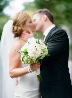 Marin Weddings #film #boquet #weddingphotography #brideandgroom #kissing @Silvana Di Franco Photography