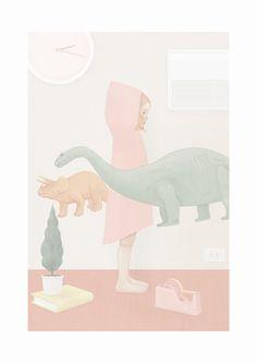 lifestyle illustration - Hsiao Ron Cheng