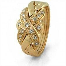 Gold & diamond puzzle ring :-)