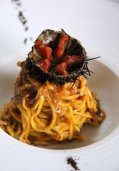 Spaghetti + Sea Urchin