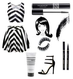 """""""Jail Style"""" by lillobubbles ❤ liked on Polyvore featuring Liliana, Christian Dior and Pirette"""