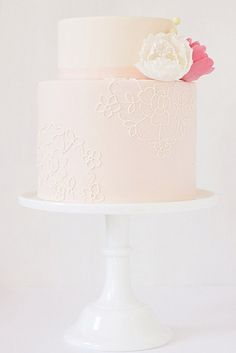 We can't help but want pink cakes for every occasion! There is just something about the delicate and feminine coloring paired with sprinkles or florals that makes our hearts melt. We've all seen a million baby pink cakes with sprinkles, but that is just the tip of the pink iceberg! We've rounded up the best …