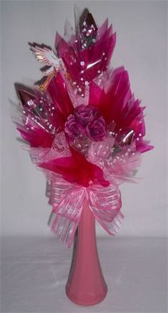 """""""Welcome Baby Girl"""" Bouquet : $13.99"""