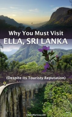 Set in a picturesque mountain landscape dotted with tea fields, Ella is a must-visit destination for travelers to Sri Lanka. The downside of the village's broad appeal is that it's earned the dreaded reputation of being touristy. I've been to Ella, and it does live up to its reputation. Compared to other parts of Sri Lanka, it is touristy. But that shouldn't keep you away. Click through to read why.