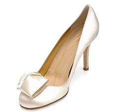 "Kate Spade Wedding Shoes - simple, comfortable but have a ""little something"" to be cute"