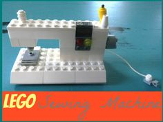 Step-by-step pictorial instructions on how to build your own teeny tiny LEGO sewing machine. If your kids have LEGO than you will have all these pieces. Pin now- create later!