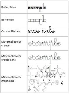 Les polices Maternellecolor combleront vos attentes pour préparer vos exercices et vos affichages.