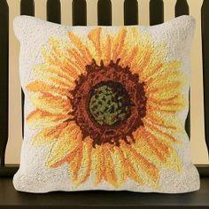 Check Out Sturbridge Yankee Workshops Sunflower Pillow