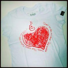 """Dia dos namorados chegando...""""E quem um dia irá dizer..."""" Rocker T-Shirts para as meninas ;-) #userocker #modarocker #rocker #tshirts #camisetas #babylook #legiaourbana #eduardoemonica Compre em www.modarocker.com.br"""