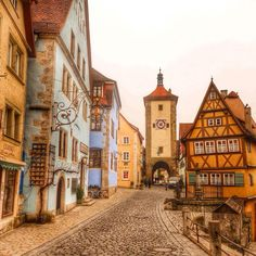 First stop of our Bavarian adventure: Rothenburg de Tauber!