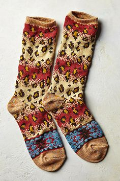 Kapital Spotted Socks #anthropologie need these!