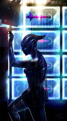 Liara as Shadow Broket