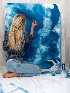 Att fånga isens sång och vinterns själ – Painting on jeans - Hybrid Elektronike Artist Painting, Painting & Drawing, Tattoo Passion, Jonna Jinton, Artist Aesthetic, Illustration Art, Illustrations, Art Hoe, Art Studios