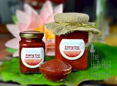 Basic Thai Red Curry Paste, Kaeng Kua by The High Heel Gourmet 10