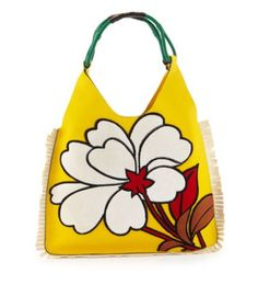 We're SO ready for Spring and this floral Marni handbag is THE perfect accessory for the season.