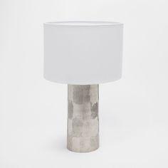 Imagen 1 del producto Lámpara pie cilindro plateado