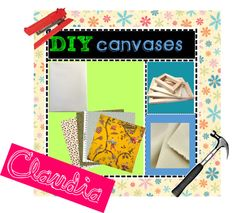 """DIY Canvases"" by the-diy-tipster-girls on Polyvore"