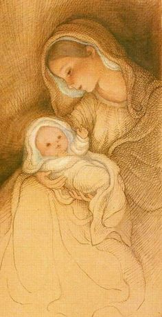 Mother Mary, Mother And Child, Nativity Painting, Religion, Mother Images, Christian Images, Sainte Marie, Mary And Jesus, My Art Studio