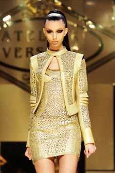 Versace dipped in gold