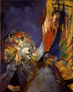 Hyman Bloom, Apparition of Danger, 1951